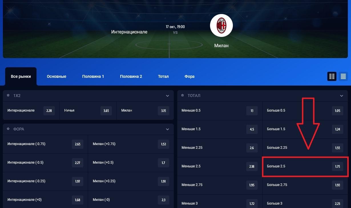 матч «Интер» - «Милан»