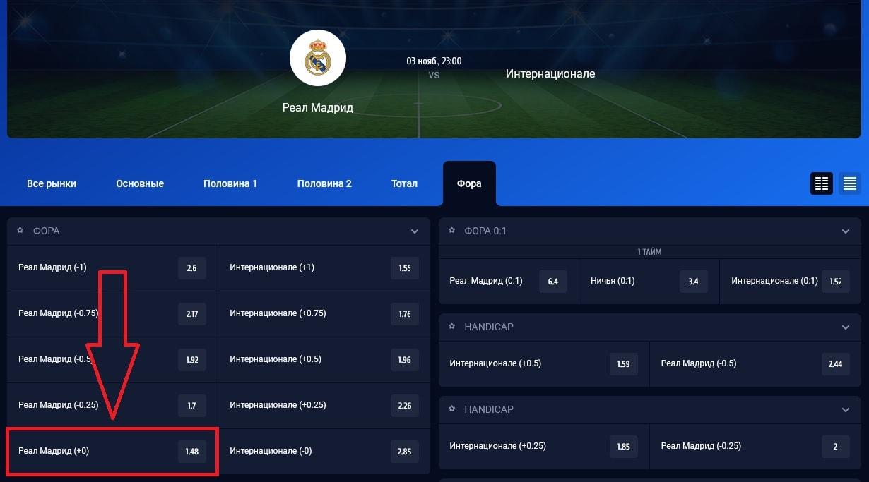 матч «Реал» М – «Интер»